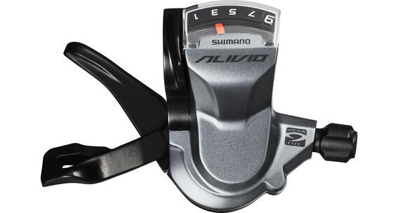 Shimano Alivio SL-M4000 Klamkomanetka 9-krotne prawe szary